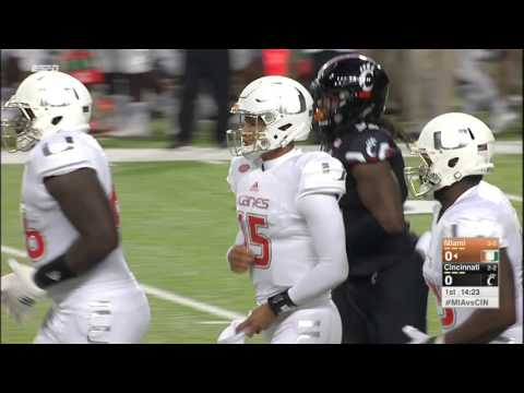 NCAAF - Miami at Cincinnati (2015)