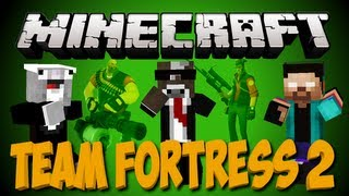 Minecraft TEAM FORTRESS 2 Minigame Server Plugin TF2
