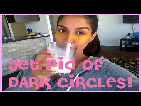 DIY: Get Rid of Dark Circles and Wrinkles Under Eyes Naturally
