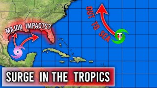 Upcoming surge in Tropical Activity