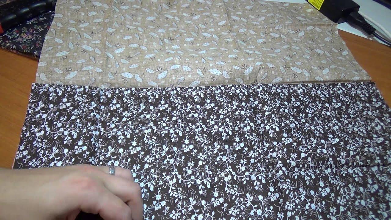 Декоративная обработка тканей на промышленной швейной машине .