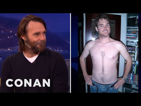 Will Forte's Chest Hair Love Arrow  - CONAN on TBS