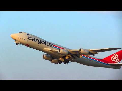 LX VCC Cargolux Airlines International Boeing 747 8R7F Liszt Ferenc Airport