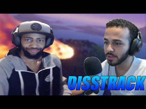 DAEQUAN REACTS TO HAMLINZ DISSTRACK TOWARDS HIM  - Fortnite Battle Royale