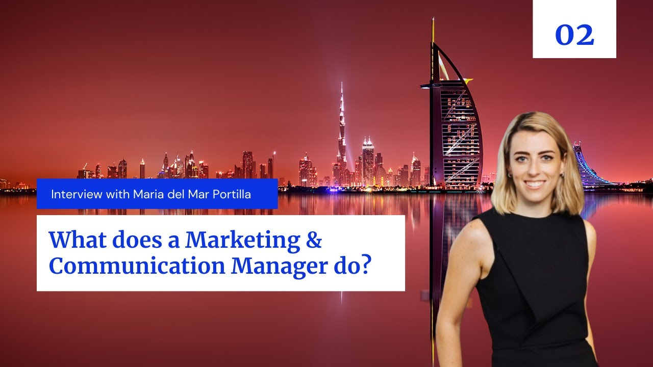 What does a Marketing & Communication Manager in the Hospitality industry do?