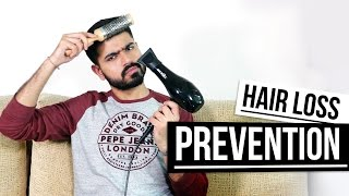 How To Prevent Hair Loss And Maintain Thicker Hair | Men