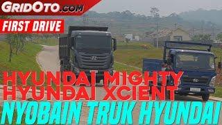 Tes Truk-Truk Hyundai di Acara HOKI Media Test Drive | GridOto