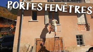 EXPLOSION DES PORTES FENÊTRES - Passion Rénovation Ep7 - construction maison travaux