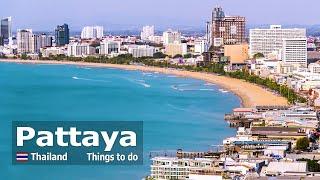 Pattaya City & Attractions Thailand 2019 (4K)