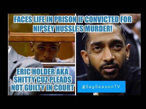 ERIC HOLDER PLEADS NOT GUILTY IN COURT FOR NIPSEY HUSSLE'S MURDER! #NipseyHussle #EricHolder #RipNip
