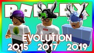 MY ROBLOX AVATAR EVOLUTION II (2015-2019)