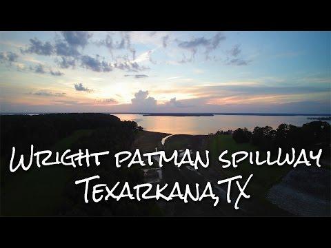 Drone Aerial Footage | Wright Patman Spillway Texarkana, TX