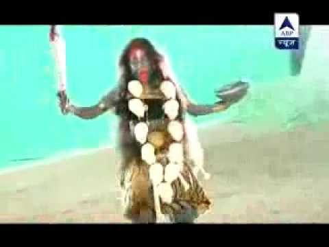 Parvati Taking Mahakali Roop-Devon Ke Dev Mahadev...