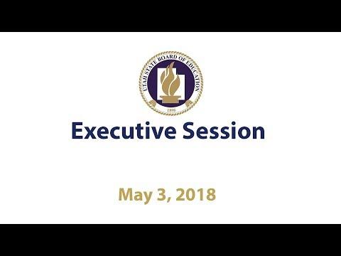 01   Executive Session