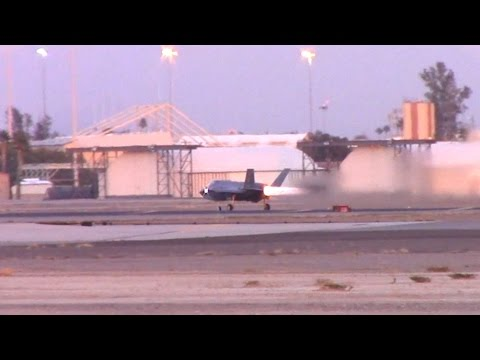 F-35 Afterburning Takeoff from Luke Air Force Base