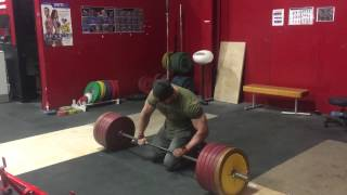 545 for 10 deadlift | Bradley Martyn