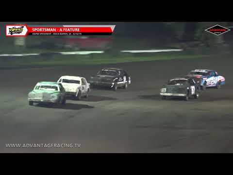 Hobby Stock B/Sportsman A Features - Rapid Speedway - 8/16/19