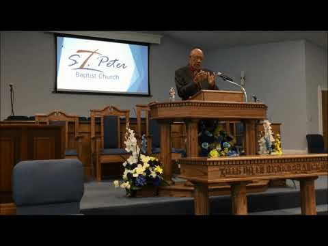 St  Peter M.B. Church - Jackson, MS - Sunday Service Sermon 3.29.2020