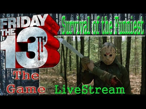 Friday The 13TH The Game Live Stream PS4 - 1st Time Playing as Mitch & Jarvis House