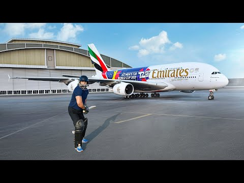 T20 World Cup 2021 Livery Reveal | Emirates Airline