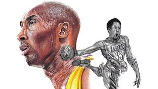 Drawing Kobe Bryant The Black Mamba