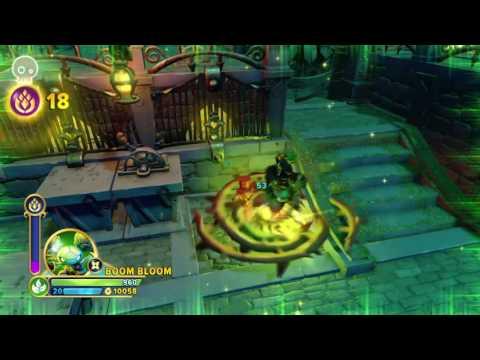 Skylanders Imaginators _ Ski-Chi! Damage Comparsion! _ Ninja!