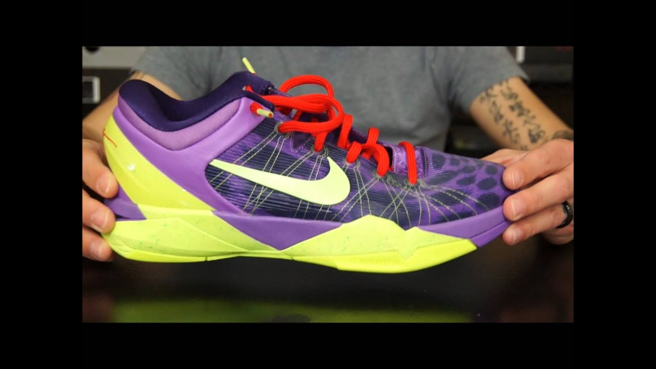 555b05988d6f Nike Zoom Kobe VII (7) Performance Review - YouTube