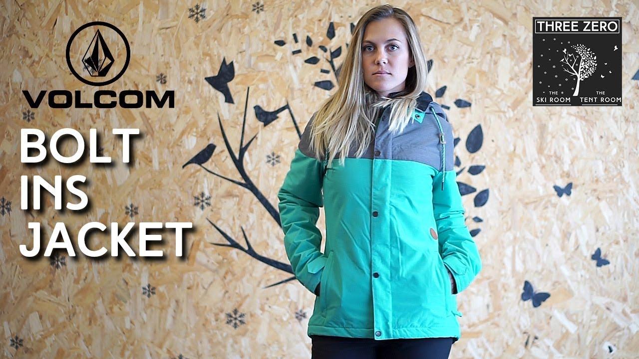 Volcom Bolt Ins Jacket Womens - YouTube 7a7d40270