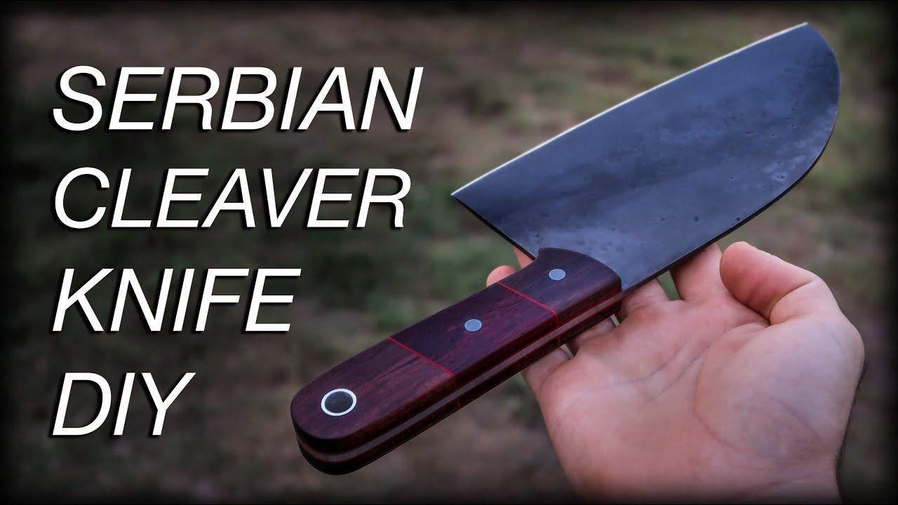 knife making kitchen cleaver knife youtube. Black Bedroom Furniture Sets. Home Design Ideas