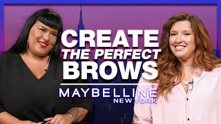 CREATE THE PERFECT BROWS ft. MariliasChoice & Μάγδα Αναστασοπούλου | Maybelline NY Greece