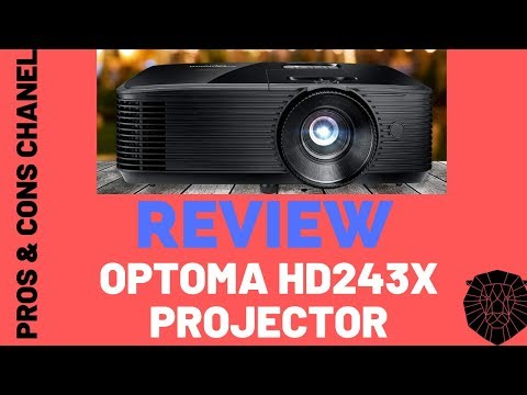 Optoma HD243X 1080p Projector  Review