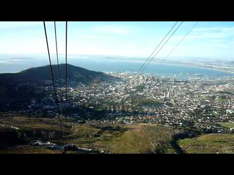 Capetown.Table mountain - Rotating cable car