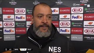 """We deserved this win!"" Nuno Santo on Wolves 1-0 Braga"