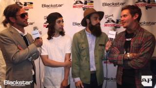 APMAs Blackstar Artist Lounge: The Devil Wears Prada and Pierce The Veil interview