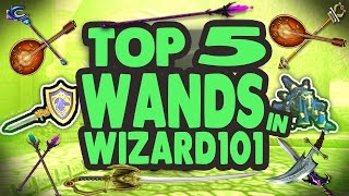 Wizard101: Top 5 Wands! The Best & Coolest Wands In Wizard101. Don'...