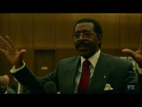 Johnnie Cochran's Closing Statement [ACS] OJ Simpson Trial
