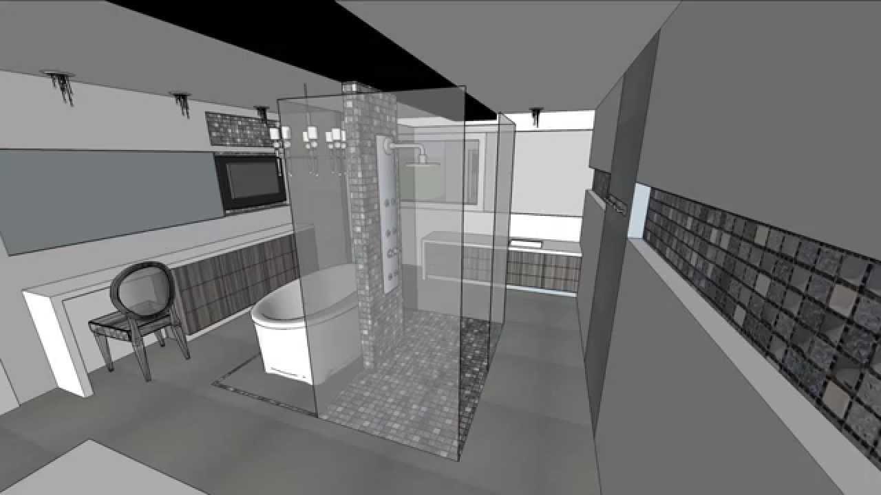 Salle de bain classique/chic - YouTube