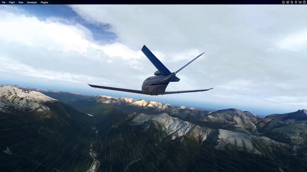 Xplane 11 - Photorealistic Graphics - Fsenhancer  Enrico Del Bono 04:30 HD
