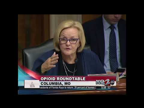 KQTV: HSGAC Ranking Member Claire McCaskill hosts roundtable on marketing of opioids
