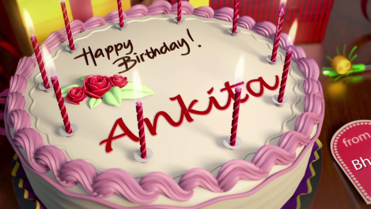 Happy Birthday Ankita Youtube