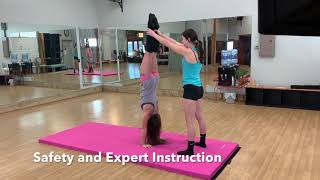 Flying Lion Fitness Adult Beginning Tumbling Class