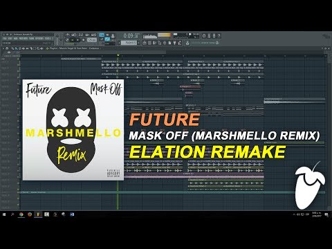 Future - Mask Off (Marshmello Remix) (FL Studio Remake + FLP)