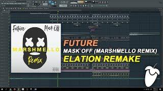 Future - Mask Off (Marshmello Remix) (FL Studio Remake + FLP)
