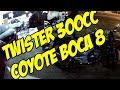 TWISTER 300 - Escape coyote e carburador XLX 350