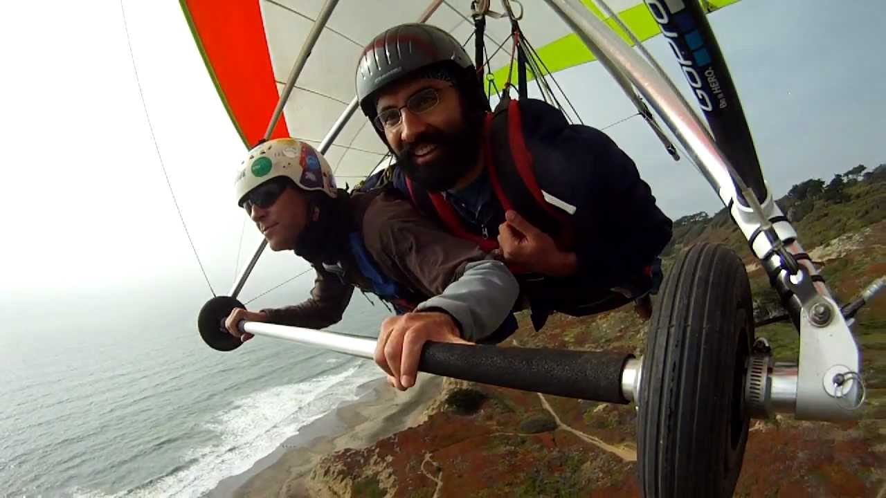 Tandem Hang Gliding At Fort Funston Ca First Person View