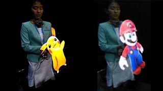 "Pokemon, Super Mario handheld ""Hologram""!"