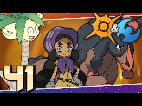 Pokémon Sun And Moon - Episode 41   Exeggutor Island And The Final Grand Trial!