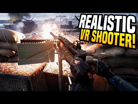 REALISTIC VR SHOOTER - Zero Caliber VR | No Man's Land! |
