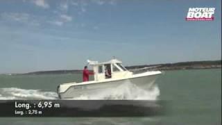 GUYMARINE ANTIOCHE 700 - Essai moteurboat.com