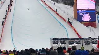 2018 PyeongChang Olympic Snowboard Halfpipe Final Run 1-Scotty JAMES at Phoenix Snowpark